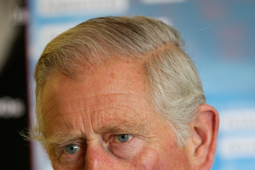 Prince Charles Prince Charles Visits GCHQ in Scarborough