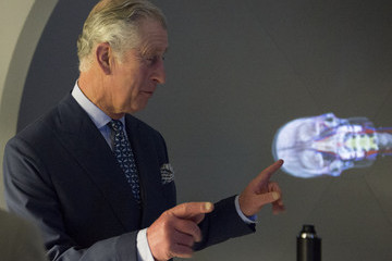 Prince Charles Prince Charles Visits St Mary's Hospital — Part 2