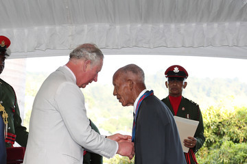 Prince Charles The Prince Of Wales And Duchess Of Cornwall Visit St. Vincent And The Grenadines