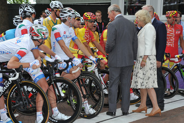Prince Charles of Wales Olympics Day 1 - Cycling - Road