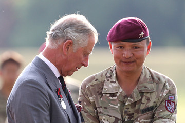Prince Charles The Prince of Wales Visits Hampshire and Kent