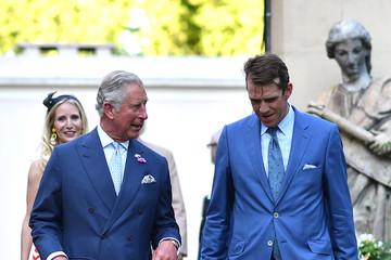 Prince Charles The Prince of Wales and Duchess of Cornwall Host the 'Travels To My Elephant' Royal Richshaw Event