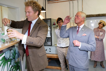 Prince Charles The Prince Of Wales Visits The Moorlands Spirit Company