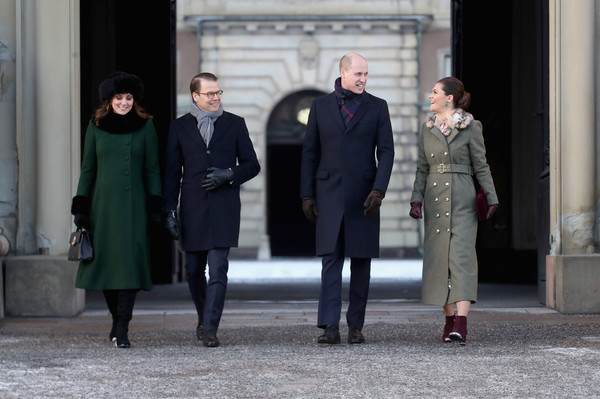 The Duke and Duchess of Cambridge Visit Sweden and Norway - Day 1 [duke,daniel,prince william,duchess,sweden,norway,duchess of cambridge,cambridge,stockholm,streets]