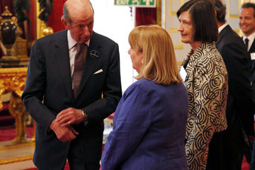 Prince Edward The Queen's Award Given for Voluntary Service