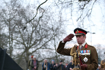 Prince Edward ANZAC Day Remembered In London Ceremony