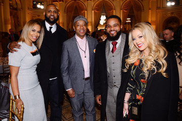 Prince Fielder Russell Simmons' Rush Philanthropic Arts Foundation's Annual Rush HeARTS Education Valentine's Luncheon - Inside