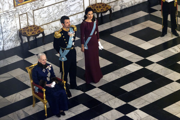 Prince Frederik Danish Queen Margrethe Holds New Year's Reception For Parliament Members