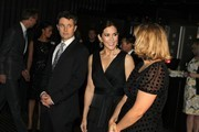 Prince Frederik of Denmark (3rd L) and Princess Mary of Denmark (C) wait to greet guests as they attend the Danish Ambassadors dinner at Doltone House, Pyrmont on November 21, 2011 in Sydney, Australia. Princess Mary and Prince Frederik are on their first official visit to Australia since 2008. The Royal visit begins in Sydney, before heading to Melbourne, Canberra and Broken Hill.