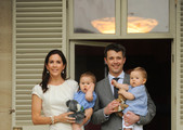 Prince Frederik of Denmark and Princess Mary of Denmark pose for photographs with their twins Princess Josephine (held by Mary) and Prince Vincent (held by Frederik) at Admiralty House on November 20, 2011 in Sydney, Australia. Princess Mary and Prince Frederik are on their first official visit to Australia since 2008. The Royal visit begins in Sydney, before heading to Melbourne, Canberra and Broken Hill.
