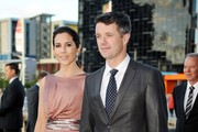 Princess Mary of Denmark and Prince Frederik of Denmark (R) arrive for a business delegation dinner on November 23, 2011 in Melbourne, Australia. Princess Mary and Prince Frederik are on their first official visit to Australia since 2008. The Royal visit began in Sydney, before heading to Melbourne, Canberra and Broken Hill.