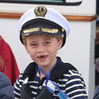 Prince George The Duke And Duchess Of Cambridge Take Part In The King's Cup Regatta
