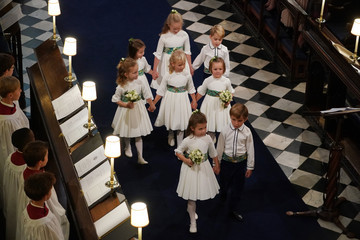 Prince George Princess Eugenie Of York Marries Mr. Jack Brooksbank