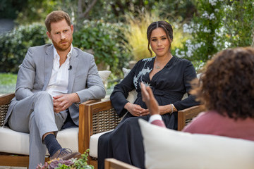 Prince Harry Oprah With Meghan And Harry: A CBS Primetime Special