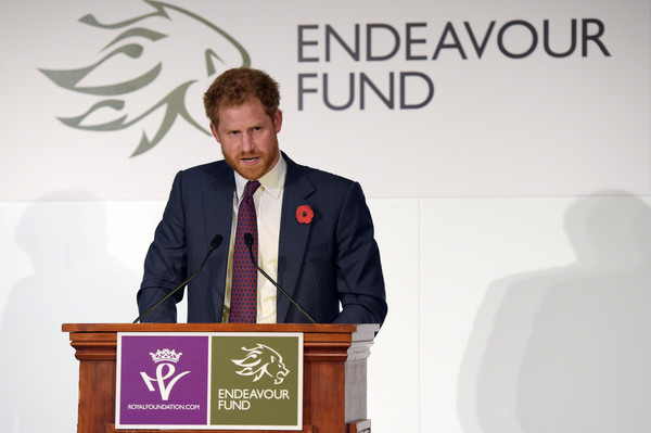 Prince Harry Attends the Endeavour Fund Reception