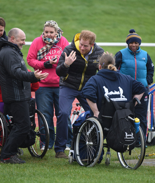 Prince Harry Attends UK Team Trials For The Invictus Games Orlando 2016