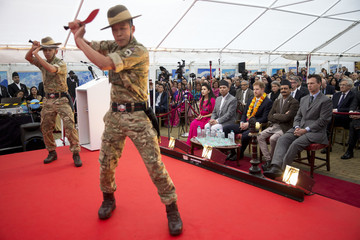 Prince Harry Prince Harry Attends A Ceremony To Celebrate The Bicentenary Of Relations Between The United Kingdom And Nepal