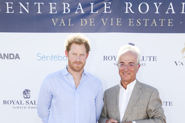 Prince Harry Philip Green Sentebale Royal Salute Polo Cup in Cape Town with Prince Harry - Red Carpet