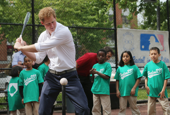 Prince Harry Surveys Damage From Hurricane Sandy — Part 3