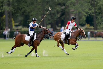 Prince Harry Prince William The King Power Royal Charity Polo Day