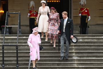 Prince Harry Princess Eugenie The Queen Hosts Garden Party At Buckingham Palace