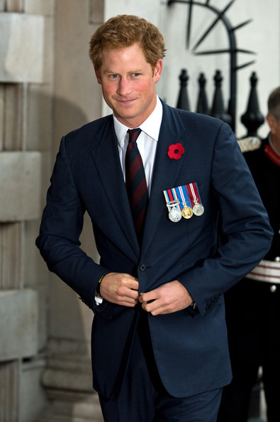 Prince Harry Prince Harry attends the service of remembrance and re-dedication for members of the Victoria Cross and George Cross Association at St. Martin-in-the-Fields on October 29, 2014 in London, England.
