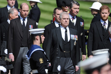 Prince Harry The Funeral Of Prince Philip, Duke Of Edinburgh Is Held In Windsor