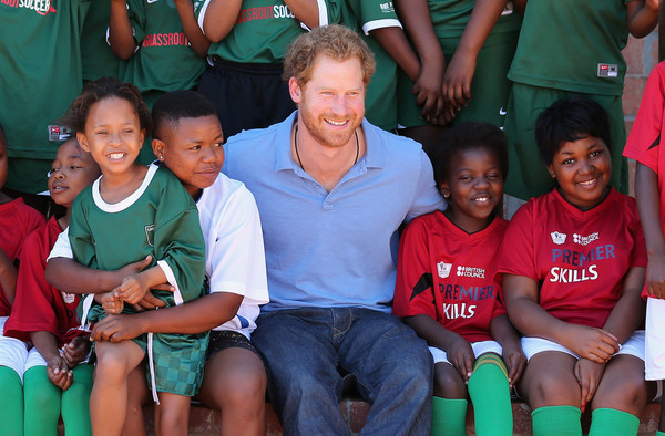 Prince Harry Visits Africa - Day 3