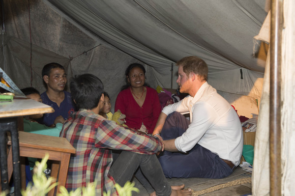Prince Harry Visits Nepal - Day 2