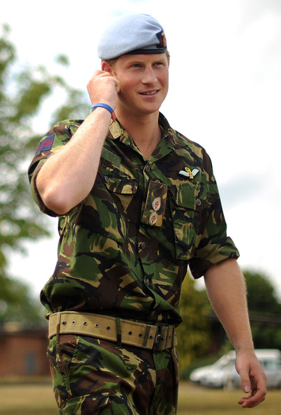 Prince Harry Visits RAF Honington