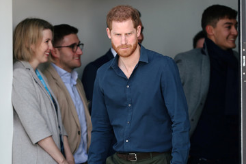 Prince Harry The Duke Of Sussex Officially Opens The Silverstone Experience