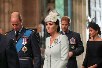 Prince Harry Westminster Abbey Service To Commemorate The Royal Air Force's 100th Birthday