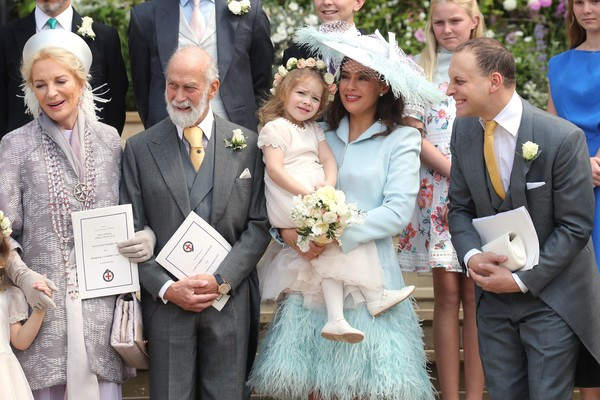 The Wedding Of Lady Gabriella Windsor And Mr. Thomas Kingston [facial expression,ceremony,event,wedding dress,wedding,marriage,dress,tradition,bridal clothing,fashion,thomas kingston,gabriella windsor,frederick windsor,michael,princess,michael of kent,l-r,kent,wedding,wedding]