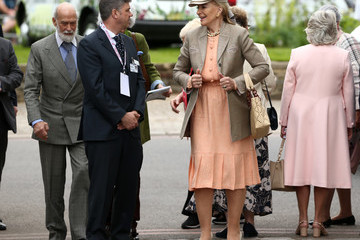 Prince Michael Of Kent RHS Chelsea Flower Show 2019 - Press Day