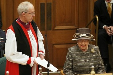 Prince Philip The Queen and Duke of Edinburgh Attend the Inauguration of the Tenth General Synod