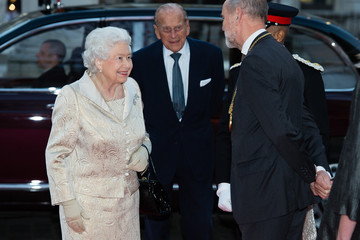 Prince Philip The Queen and Duke of Edinburgh Attend an Awards Ceremony at The Royal Academy of Arts