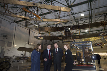 Prince Philip First World War in the Air Exhibition Opening