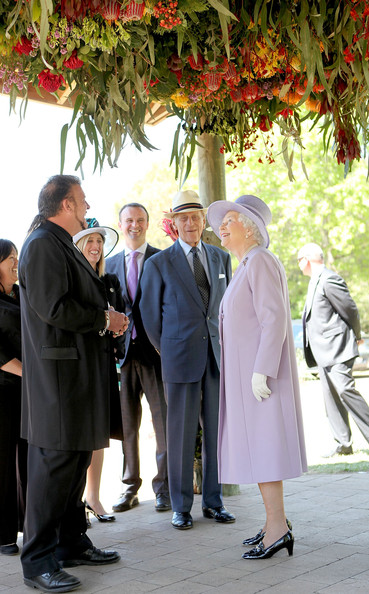 Queen Elizabeth II And Duke of Edinburgh Visit Australia