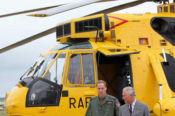 Prince William Prince Charles Prince Of Wales Annual Tour Of Wales - Day One