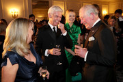 Prince Charles, Prince Of Wales shares a joke with Stephanie Lowe, Phillip Schofield and Fearne Cotton during the Prince's Trust 'Invest In Futures' Reception at The Savoy Hotel on February 7, 2019 in London, England. Over the past 13 years, The Prince's Trust's 'Invest in Futures' event has encouraged donors to help disadvantaged young people into work, training or enterprise.