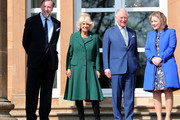 Prince Charles, Prince of Wales, and Camilla, Duchess of Cornwall attend the reopening of Hillsborough Castle on April 09, 2019 in Belfast, Northern Ireland.