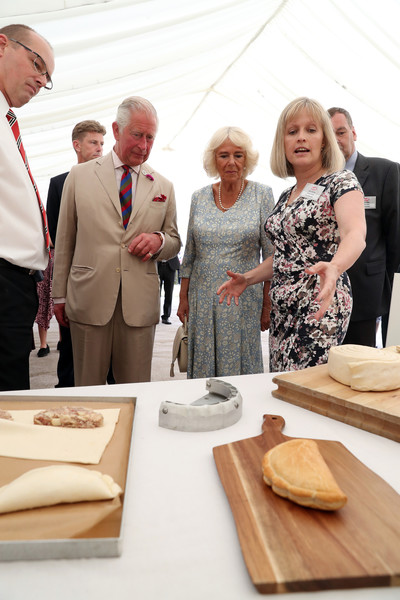 The Prince Of Wales And Duchess Of Cornwall Visit Devon And Cornwall - Day 2