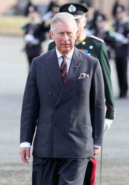 Prince Charles, Prince of Wales attends a wreath laying ceremony at the National Monument at Akershus Fortress on March 20, 2012 in Oslo, Norway.  Prince Charles, Prince of Wales and Camilla, Duchess of Cornwall are on a Diamond Jubilee tour of Scandinavia that takes in Norway, Sweden and Denmark.