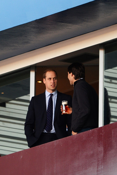Prince William Prince William, Duke of Cambridge attends the Barclays Premier League match between Aston Villa and Sunderland at Villa Park on November 30, 2013 in Birmingham, England.
