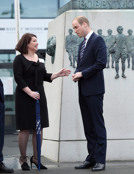 Prince William Attends Lunch To Mark 10 Years as President of The FA