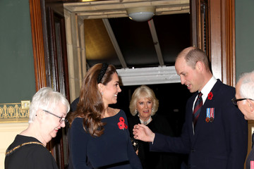 Prince William Camilla Parker Bowles The Queen And Members Of The Royal Family Attend The Royal British Legion Festival Of Remembrance