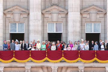 Prince William Camilla Parker Bowles Trooping The Colour 2019