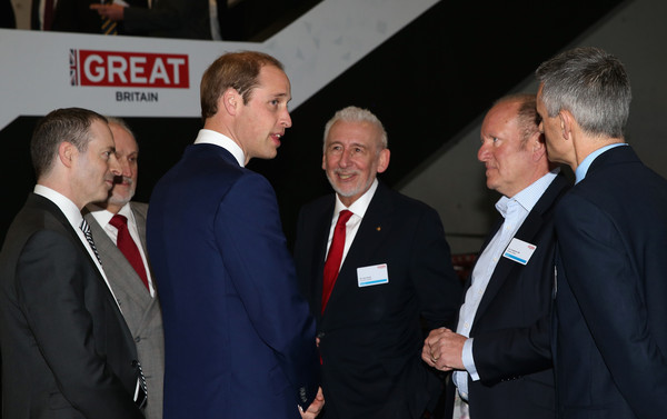 Prince William Prince William, Duke of Cambridge meets Sir John Sorrell (3rdR) and guests at the GREAT Festival of Creativity at the Long Museum on March 2, 2015 in Shanghai, China. Prince William, Duke of Cambridge is on a four day visit to China. He is the most senior royal to visit China since the Queen and Duke of Edinburgh in 1986. His visit follows on from a successful four day visit to Japan