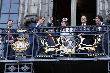 Prince William British Royals at Grand Place