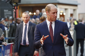 Prince William 'They Shall Not Grow Old' World Premiere - 62nd BFI London Film Festival